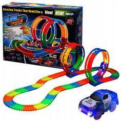 Акция на Автомобильный трек Glow Tracks | Детский гоночный трек от Allo UA