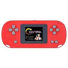 Акция на Игровая портативная консоль приставка UKC Mini Game 268в1 игр Dendy, SEGA (денди сега) 8bit. Красная от Allo UA