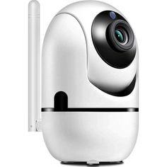 Акция на Беспроводная IP смарт камера c панорамным обзором датчиком движения и ночным видением Wi Fi Y13G от Allo UA