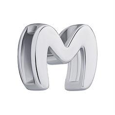Акция на Подвеска серебряная буква М 000147326 от Zlato
