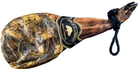Акция на Мясо сыровяленое хамон Sierra Mogina Paleta Reserva Capeado 50% Duroc передняя нога свиная 4 кг (8414248161034) от Rozetka