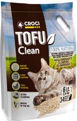 Акция на Наполнитель для кошачьего туалета Croci Тофу Clean 6 л (8023222138117) от Rozetka
