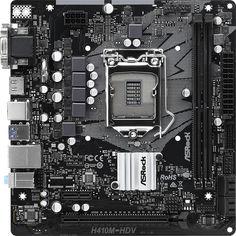 Акция на Материнская плата ASRock H410M-HDV (s1200, Intel H410, PCI-Ex16) от Rozetka