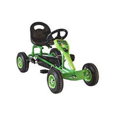 Акция на Современный веломобиль с камерными колесами для детей от 2-х до 8 лет до 45 кг Childhood зеленый 84х46х45 см от Allo UA