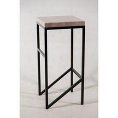 Акция на Барный стул GoodsMetall в стиле лофт 750х350х350 БС223 от Allo UA