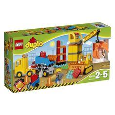 Акция на LEGO Duplo Большая стройплощадка 10813 от Allo UA