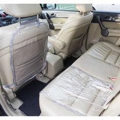 Акция на Комплект - Защита на спинку сиденья и сидушку в машину NAF-Grey (серый) от Allo UA
