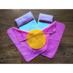 Акция на Кукольный Набор текстиля FANA для Спального Уголка для кукол Барби Barbie в кукольный домик из 7 предметов от Allo UA