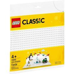 Акция на Конструктор Lego Classic Белая базовая пластина 11010 от Allo UA