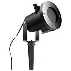Акция на Лазерный уличный проектор Garden Star Sower WP2 праздничные проекции с подставкой для помещений от Allo UA