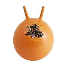 Акция на Мяч-Попрыгун для детей надувной, с двумя ручками D=45-50см Звездные войны, Самбро, цвет: оранжевый - Sambro от Allo UA