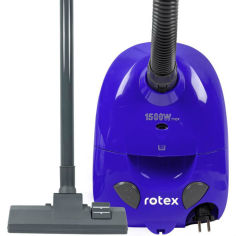 Акция на Пылесос ROTEX RVB01-P Blue от Foxtrot