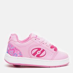 Акция на Роликовые кроссовки Heelys Asphalt 1-Wheel HES10197 31 18 см Pink/Hearts (889642989504) от Rozetka