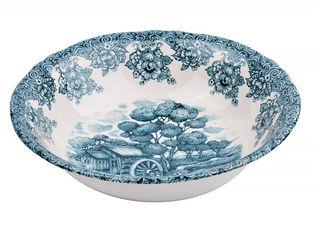 Акция на Салатник круглый Claytan Ceramics Мельница изумрудная 23.7 см (910-139) от Rozetka