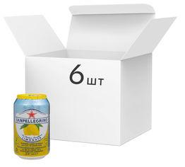 Акция на Упаковка напитка San Pellegrino Limonata 330 мл х 6 шт (8002270024290) от Rozetka
