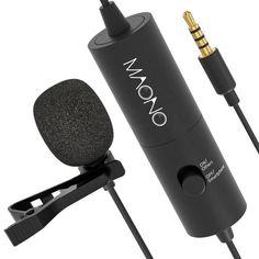 Акция на Петличный конденсаторный микрофон Maono AU-100 Black от Allo UA