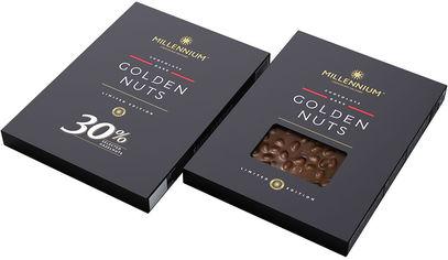 Акция на Шоколад Millennium черный с целым фундуком 1.1 кг (4820075509514) от Rozetka