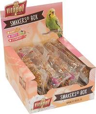 Акция на Набор лакомств для попугаев Vitapol Smakers Box с медом 12 шт (5904479132314) от Rozetka