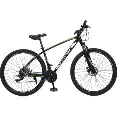 """Акция на Велосипед 29"""" Favorite Tracker 19"""" black-green-white (2021) от Allo UA"""