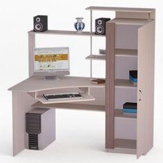 Акция на Компьютерный стол LED-67 FlashNika Дуб Лимберг + Коимбра от Allo UA
