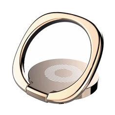 Акция на Кольцо-держатель автомобильный Baseus Privity Ring Bracket, Gold (SUMQ-0V) от Allo UA