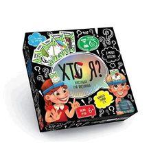 Акция на Настільна гра Danko Toys Хто Я (HIM-02-02) (2400673844013) от Allo UA