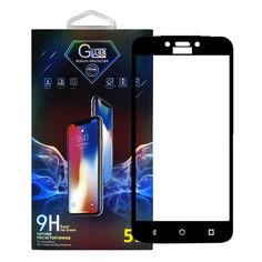 Акция на Защитное стекло Premium Glass 5D Side Glue для Motorola Moto C Black от Allo UA