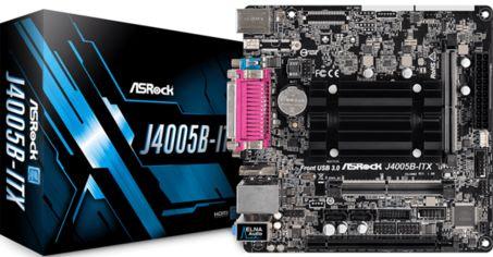 Акция на Материнская плата ASRock J4005B-ITX от MOYO