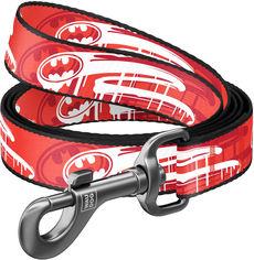 "Акция на Поводок для собак нейлоновый Collar WAUDOG Nylon, рисунок ""Бэтмен"", L, Ш 25 мм, Дл 122 см (0125-2012) от Rozetka"