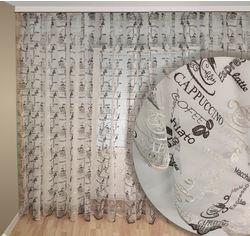 Акция на Тюль Декор-Ин Кофе на микросетке 400х285 (ROZ6400056310) от Rozetka