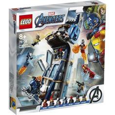 Акция на LEGO® Super Heroes Башня Мстителей - Битва (76166) от Allo UA