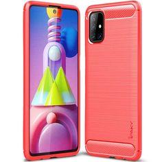 Акция на TPU чехол iPaky Slim Series для Samsung Galaxy M51 Красный от Allo UA