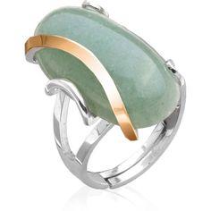 Акция на Женское кольцо с нефритом Юрьев 30к 20 от Allo UA