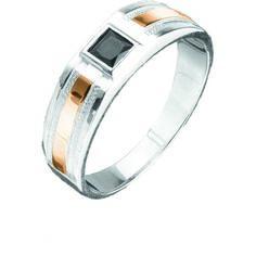 Акция на Мужской перстень с цирконием Юрьев 142к - 142к 20.5 от Allo UA