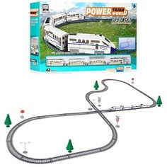 Акция на Железная дорога 457 см TRAIN BSQ C поездом, световыми и звуковыми эффектами (2183ALB) от Allo UA