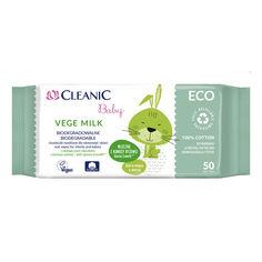 Акция на Влажные салфетки Cleanic Baby Eco Vege Ecomilk 50 шт 2969 ТМ: Cleanic от Antoshka