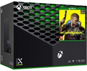 Акция на Microsoft Xbox Series X 1TB + Cyberpunk 2077 от Y.UA