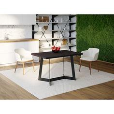 Акция на Обеденный стол HYGGE HG136 Хьорсхольм 120 х 80 х 75 см ДСП Дуб Венге (HG13612875weOPar) от Allo UA
