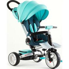 Акция на детский велосипед-каталка Azimut Crosser Rosa Turquoise (T-600R) от Allo UA