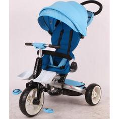 Акция на детский велосипед-каталка Azimut Crosser Rosa Blue (T-600R) от Allo UA