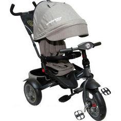 Акция на детский велосипед-каталка Azimut Crosser T-400 NEO ECO Air Grey от Allo UA