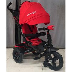 Акция на детский велосипед-каталка Azimut Crosser T-400 NEO ECO Air Red от Allo UA