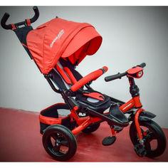 Акция на детский велосипед-каталка Azimut Crosser T-400 TRINITY Air Red от Allo UA
