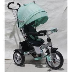 Акция на детский велосипед-каталка Azimut Crosser Air Turquoise (T-503) от Allo UA