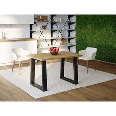 Акция на Обеденный стол Skandi Wood SW045 Делавэр 160 х 80 х 75 см МДФ+Шпон Дуб Натуральный (SW04516875NaOMDF) от Allo UA