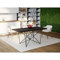 Акция на Обеденный стол Skandi Wood SW078 Сейлем 120 х 80 х 75 см МДФ+Шпон Дуб Венге (SW07812875weOMDF) от Allo UA