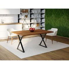 Акция на Обеденный стол Skandi Wood SW093 Нэшвилл 140 х 80 х 75 см МДФ+Шпон Дуб Коричневый (SW09314875BrOMDF) от Allo UA