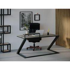 Акция на Компьютерный стол Skandi Wood SW102 Трентон 135 х 80 х 75 см Массив Ясень Темно-Cерый (SW102138075DaarrAsh) от Allo UA