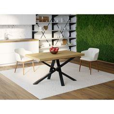 Акция на Обеденный стол Skandi Wood SW048 Колорадо 135 х 80 х 75 см Массив Ясень Натуральный (SW048138075NaarrAsh) от Allo UA