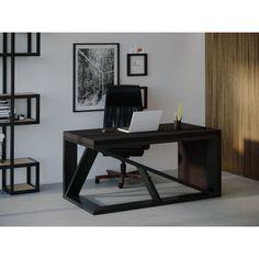 Акция на Компьютерный стол Skandi Wood SW107 Индиана 135 х 80 х 75 см Массив Ясень Венге (SW107138075wearrAsh) от Allo UA
